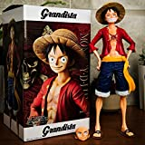 jhsajddaa One Piece Mano per Fare Ornamenti Rufy Nami Bambola Ornamenti Circostante Giocattoli Educativi Modello in Edizione Limitata per Bambini Risate Rufy 27 Centimetri