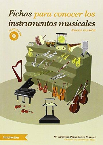 Descargar Libro FICHAS PARA CONOCER LOS INSTRUMENTOS MUSICALES de Mª AGUSTINA PERANDONES MÁNUEL