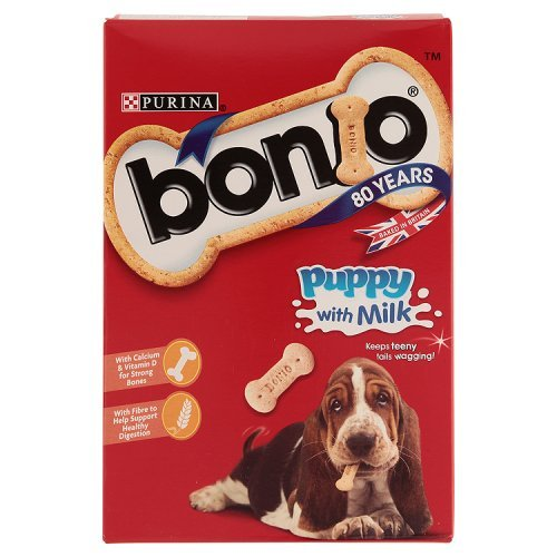 Bonio Puppy Milk Dog Biscuits 350g