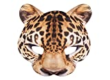 Boland 56731 Halbmaske, Womens, Leopard, One Size