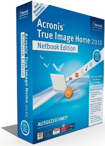 Acronis True Image Home 2010 Netbook Edition