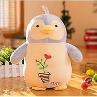 Preisvergleich für Cute and Soft Adorable Penguin weichen Plüschtier gefüllt Animal Animal Kid Puppe Geschenk (hellblau, 30cm)
