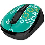 Microsoft Wireless Mobile Mouse 3500 Artist Edition Bluetrack / Bluetrace, Radio Transfer, PC Mouse, PC / Mac, 2-ways