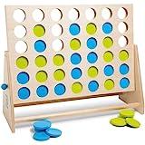 BS Toys Vier Bij Elkaar, Groen-Blauw