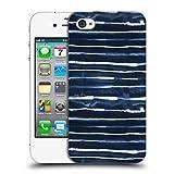 Head Case Designs Offizielle Ninola Weisse Elektrische Lineen Geometrisch Ruckseite Hülle für iPhone 4 / iPhone 4S
