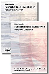 Bach-Inventionen Bundle 1: Gitarre-Duo, Gitarre-Trio