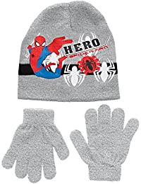Marvel Boy's Spiderman Hero Hats and Gloves
