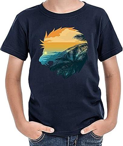 Lion head T-shirt garçon 12+ yrs