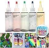ESSORT Tie-Dye Kit One-Step Kit Tinte para Ropa 5 Colores para Disfraz para Niño, Tela Pinturas, 4...