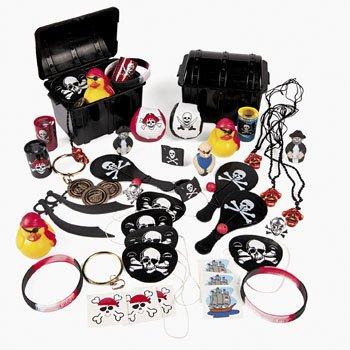 Piraten Partyset mit 50 Teilen für Piratenparty mit Mitgesel Palandi®