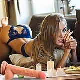 Reasoncool Sexspielzeug für Erwachsene,7,5 Zoll Weicher Realistischer Dildo biegsamer Penis Starker Saugnapf Wasserdicht Sex Spielzeug