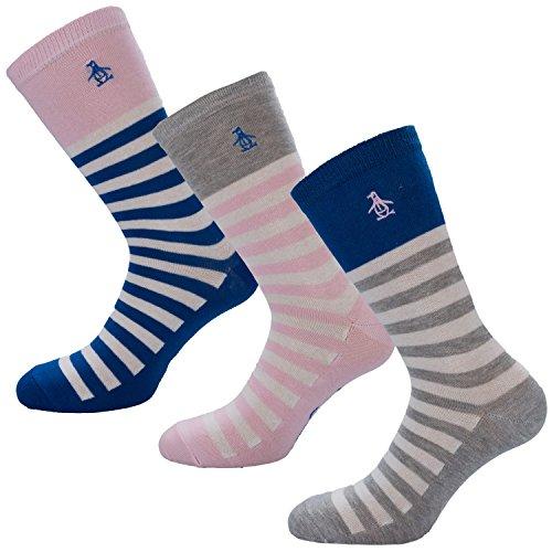 womens-original-penguin-womens-3-pack-stripe-socks-in-grey-4-7