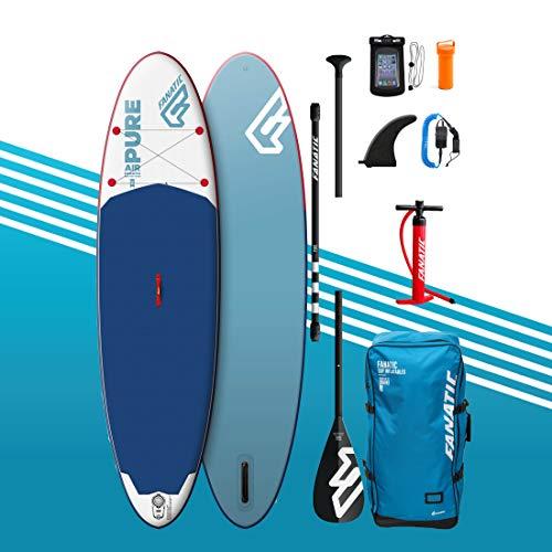 Fanatic Pure Air Planche de Paddle Gonflable 10'4 avec kit de Stand up Paddle et Pompe à Sup -...
