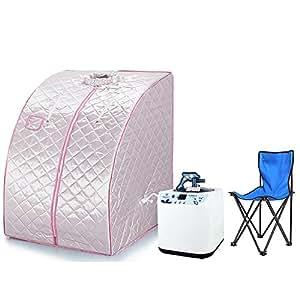 mobile sauna mini dampfsauna heimsauna w rmekabine sitzsauna saunakabine silber. Black Bedroom Furniture Sets. Home Design Ideas