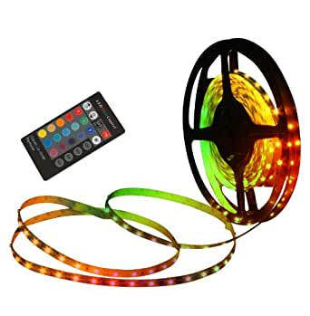 naeve leuchten led stripe mit fernbedienung farbwechsler l 5 m 150 leds 5090261. Black Bedroom Furniture Sets. Home Design Ideas