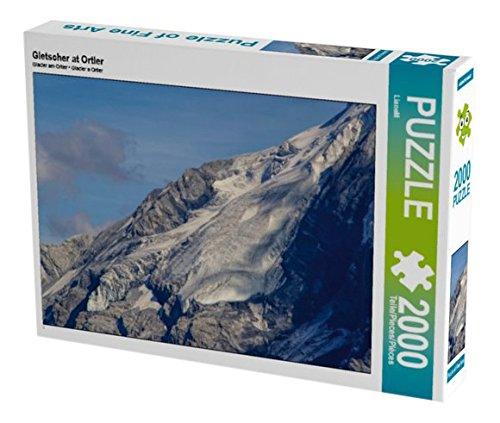 Preisvergleich Produktbild Gletscher at Ortler 2000 Teile Puzzle quer (CALVENDO Orte)