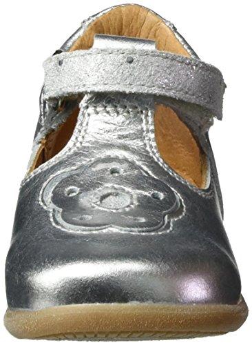 Froddo - G2140028, Scarpine primi passi Bimba 0-24 Argento