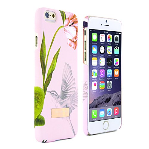 TED BAKER - Coque arrière rigide Ted Baker pour iPhone 6S / IPhone 6 ? Effet Velouté - Collection A/H15 - DOBOS (Rose) dobos (nude)