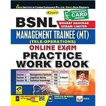 Kiran's BSNL (Bharat Sanchar Nigam Limited) Management Trainee (MT) (Tele-Operations) Online Exam Practice Work Book - English - 2413