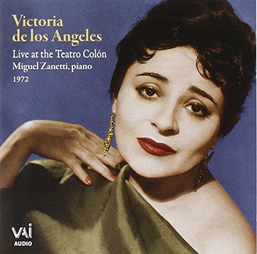 Victoria de Los Angeles Live in Recital