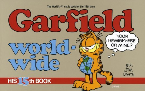 Garfield World Wide (Garfield (Numbered Paperback)) by Jim Davis (3-Mar-1988) Paperback