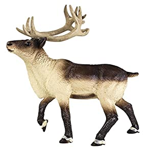 Safari S277929 Wild North American Wildlife Reindeer Miniatura