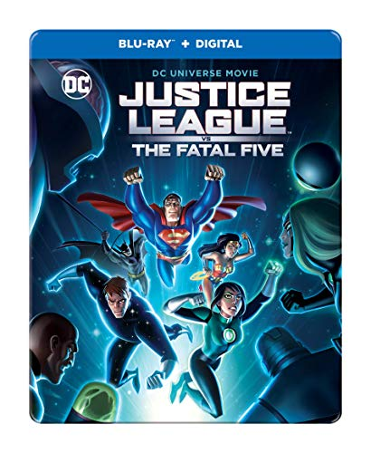 Picture of Justice League: Fatal Five - Steelbook [Blu-ray] [2019]