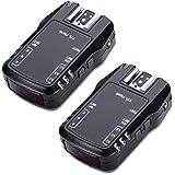 Neewer NW622N FSK 2,4 gHz 7 77 canales I-TTL disparador de transceptor de alta velocidad de sincronización de Flash externo y receptor para Nikon D70 D70S D80 D90 D200 D300 D300S D600 D700 D800; D3000 D3100 D3200; D5000 D5100; D7000 D7100 cámaras, Nikon SB-400 SB-600 SB-700 SB-800 SB-900 SB-910 Flashes