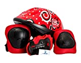 #9: Krazy Kamachi Protection Equipment Set For Skating And Cycling Combo PE-44 (4 in 1)