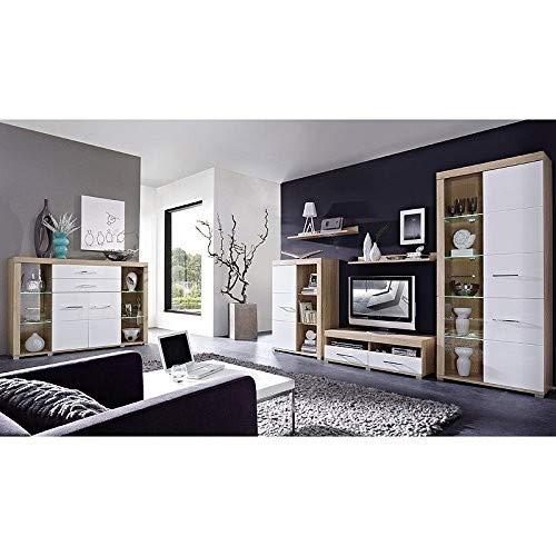 Peter DSHW561031 TV-Element Schrank Unterteil Kommode fernseherstand fernseherständer, Holz, braun, 48.0 x 200.0 x 31.0 cm - 5