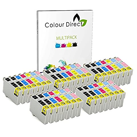 35 Colour Direct Compatible Ink Cartridges replacement For Epson T0791 - T0796 - Stylus Photo 1400, 1410, 1500W A3 Printers (NON-OEM)