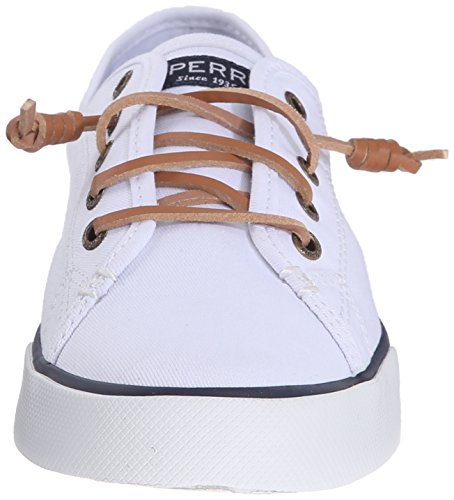 Sperry Donne Vista Blanc sider Top Molo Sneaker FFvrg1pn