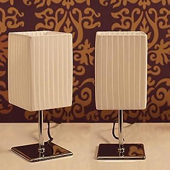 XTRADEFACTORY L22 Lot de 2 lampes de chevet