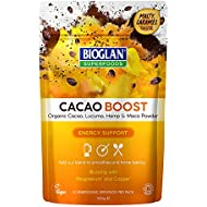 Bioglan Superfoods Cacao Boost | Energy Support, with Organic Lucuma, Hemp Protein and Maca - 100g