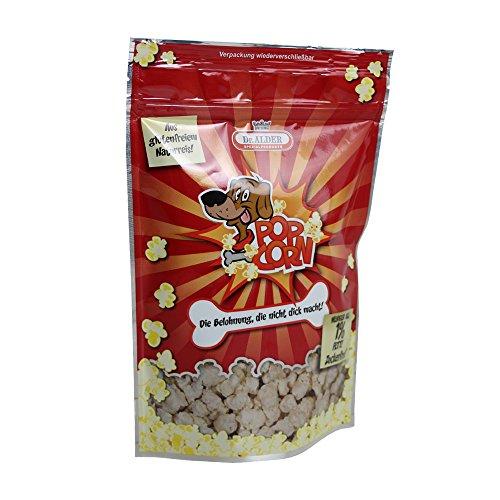 Hundepopcorn Snack von Dr. Alder fettarm aus Naturreis natürlich zuckerfrei und Glutenfrei (100 g)