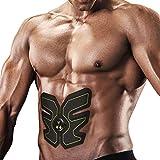 Ikeepi EMS Fitness Gerät Elektroden Pads für Muskelaufbau zu Hause, Elektrische Muskelstimulation für Bauch Arme Beine und Taille für Alle Körpergrößen, Grün