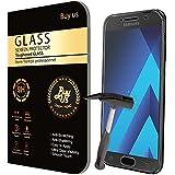Film Protecteur d'écran VITRE en VERRE TREMPE pour Samsung Galaxy A3 2017 Ultra Transparent Ultra Résistant INRAYABLE INVISIBLE - A3 (2017) A320- Recouvre totalement l'ecran