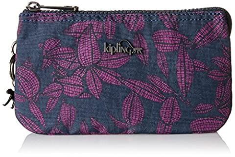 Kipling Creativity L, Women's Purse, Mehrfarbig (Orchid Bloom), 18.5x11x0.1 cm (B x H T)