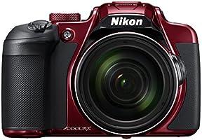 Nikon Coolpix B700 Appareils Photo Numériques 21.14 Mpix Zoom Optique 60 x Rouge