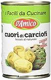 D'Amico Cuori di Carciofi, Lessati al Naturale - 400 gr