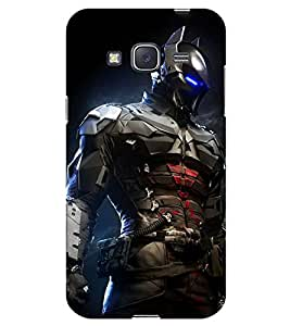 Chiraiyaa Designer Printed Premium Back Cover Case for Samsung Galaxy J3 (robot fighter) (Multicolor)