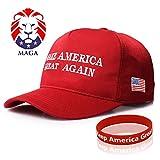 Sumyer Maga Hut, Donald Trump Hut, Machen Amerika Wieder groß, Baseball-Mütze und Armband