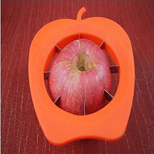 Haushalt Werkzeug geschnittenem Obst Multi Funktions Edelstahl Shredder Slicer Cut Apple Gerät orange Zesters Gerät Zufällige - 6