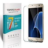 Pomisty Protector de Pantalla para Samsung Galaxy S7, Templado Premium ,Protector Pantalla Cristal Vidrio Templado para Samsung Galaxy S7