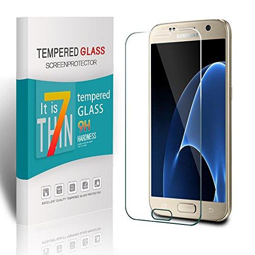 Preisvergleich Produktbild Galaxy S7 Panzerglas Schutzfolie,Pomisty Samsung S7 Displayschutzfolie 9H Hardness Anti-Scratch Glas Folie mit Samsung Galaxy S7