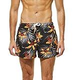 34f414791 BBestseller Moda Surf Ajustable impresión Pantalón de Playa Bañadores para  Hombre Cordón Pantalones Cortos de Playa