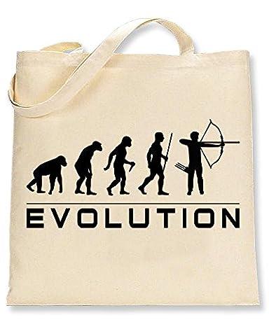Shaw Tshirts® Evolution of Archery Tote Bag