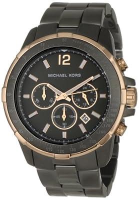 Michaël Kors MK8173 - Reloj de pulsera hombre, acero inoxidable, color gris