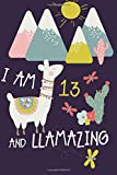 Best Books For 13 Year Old Girls - I am 13 and Llamazing: Cute Llama Journal Review