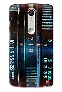 Omnam Old Radio With Frequency Designed Printed Designer Back Case For Motorola Moto X Force